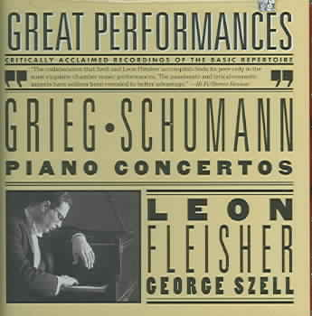 GRIEG & SCHUMANN:PIANO CONCERTOS BY FLEISCHER,LEON (CD)